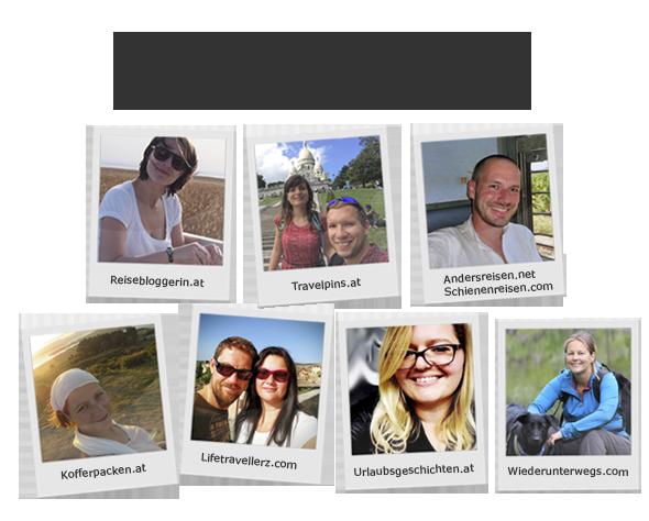 #7ways2travel - 7 bekannte Reiseblogger aus Österreich