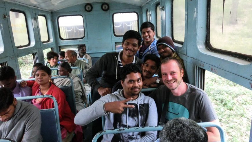 General Class bei der Nilgiri Mountain Railway (Flachstrecke)