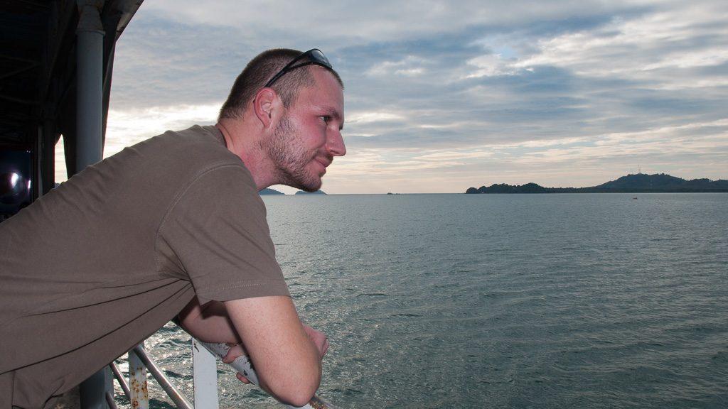 Gerhard Liebenberger in Thailand