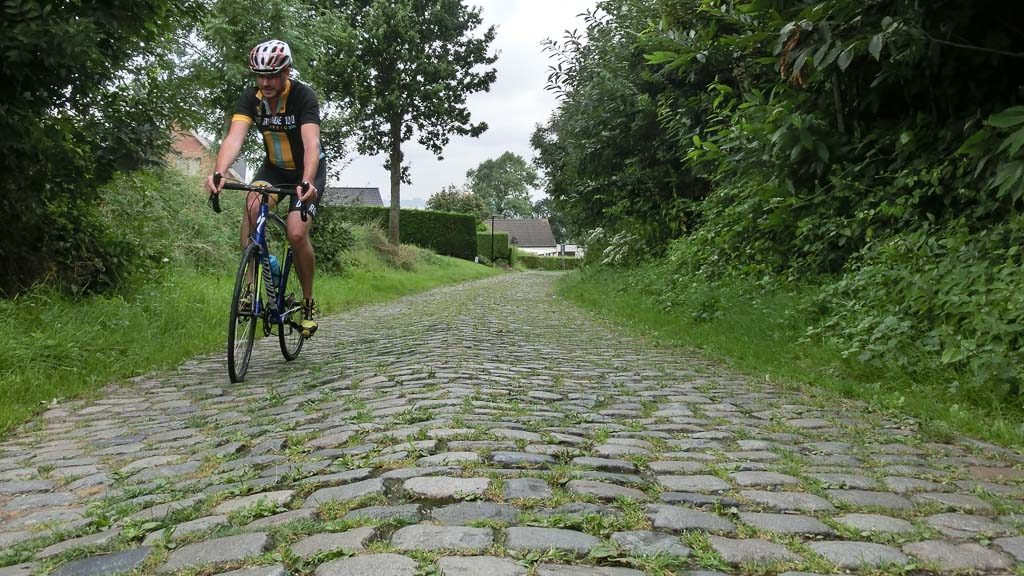 Rennrad am Kwaremont