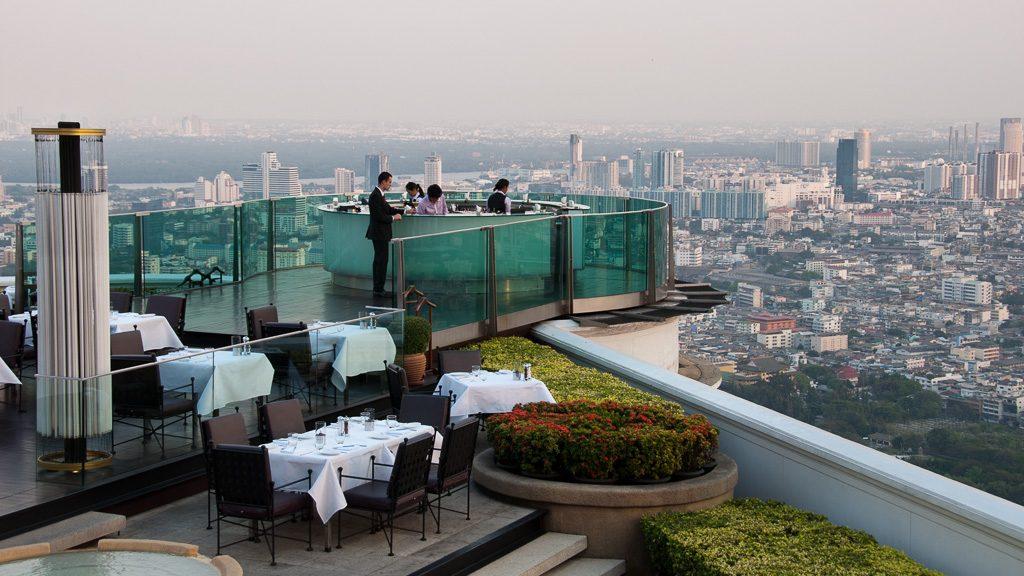 Lebua Bangkok - Sirocco Bar