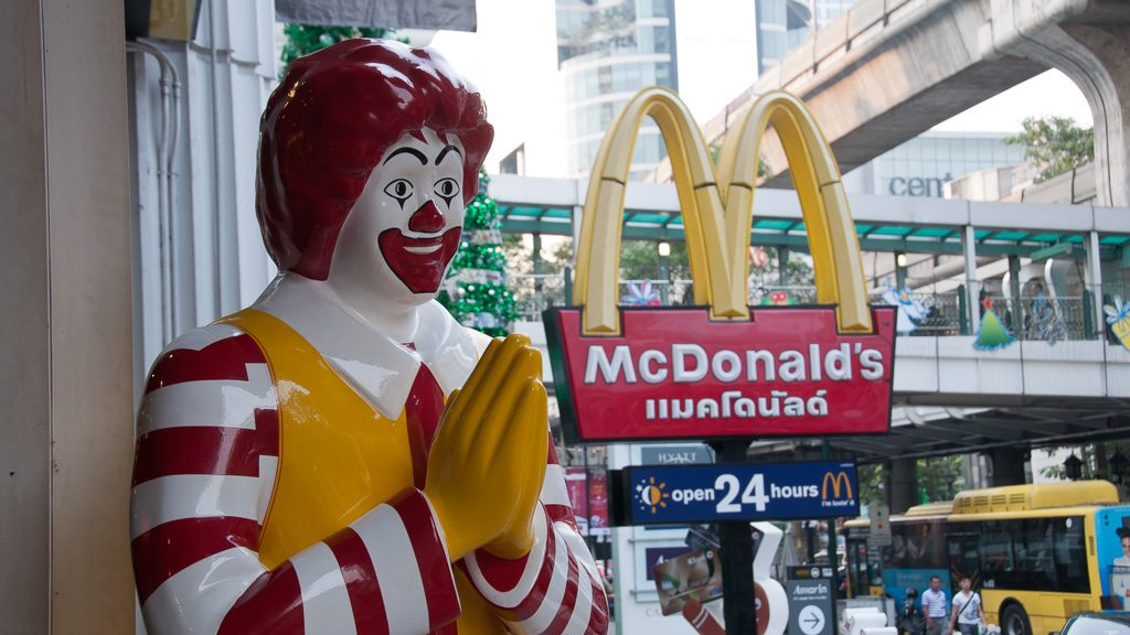 McDonalds in Thailand