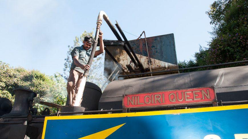 Nilgiri Mountain Railway - Wasser