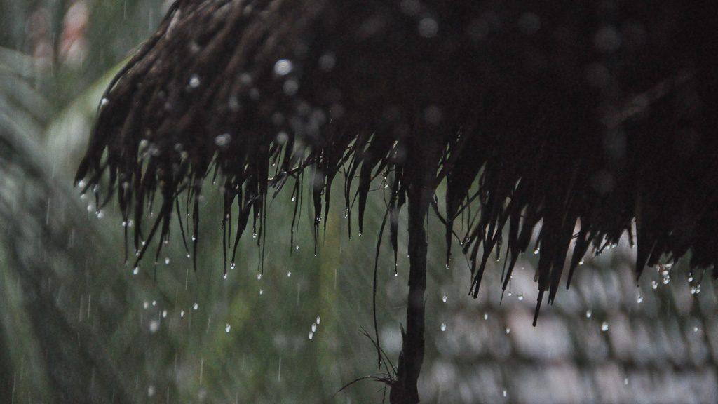Regenzeit in Südostasien