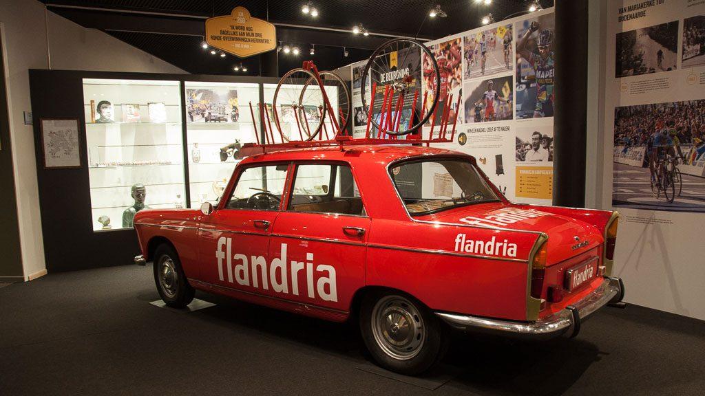 Tour of Flanders Centre - Versorgungsfahrzeug