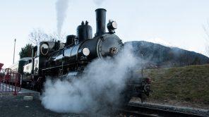 Dampflokomotive JZ 73-019 der Pinzgauer Lokalbahn (PLB)