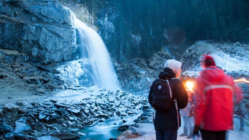 Fackelwanderung zu den Krimmler Wasserfällen