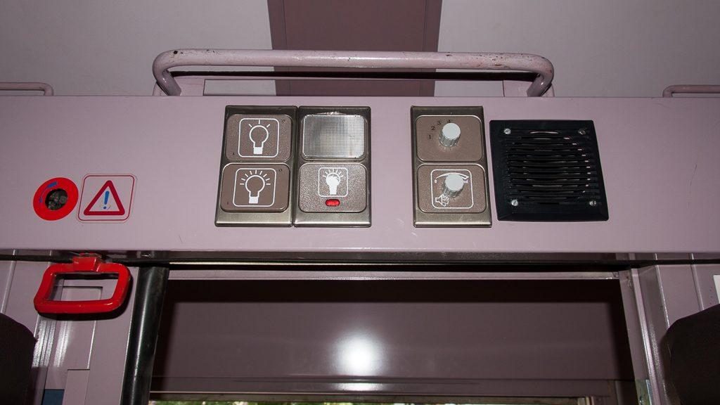 Train Hostel Brüssel Schlafwagen - Notbremse