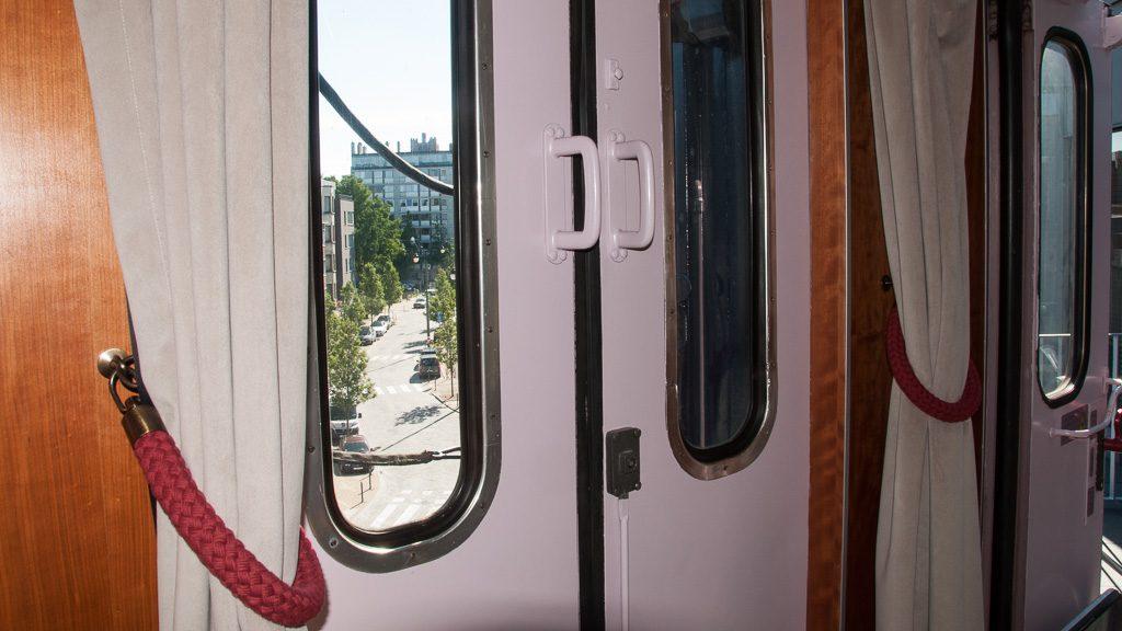 Train Hostel Brüssel Suite - Ausblick