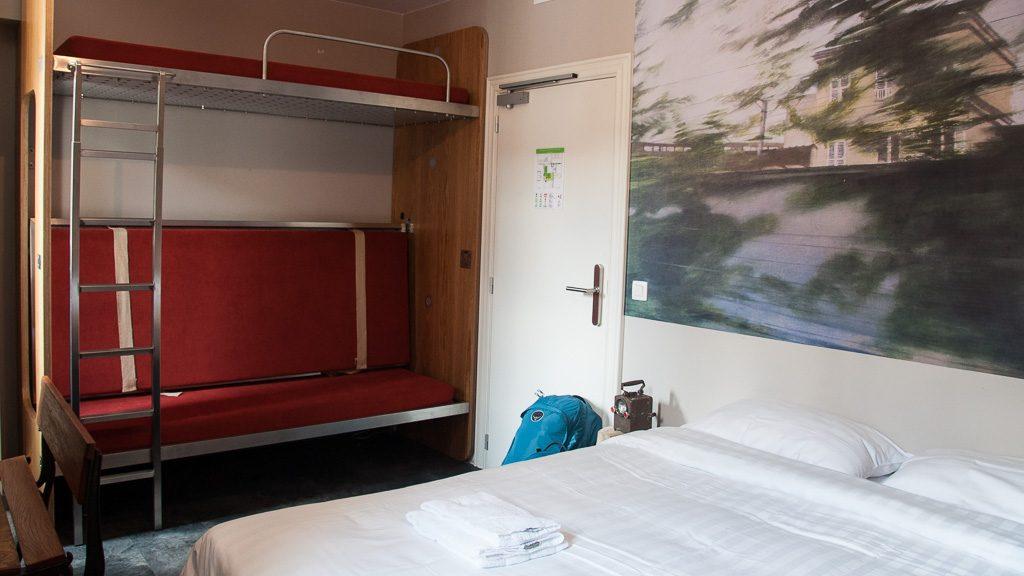 Train Hostel Eisenbahn-Zimmer