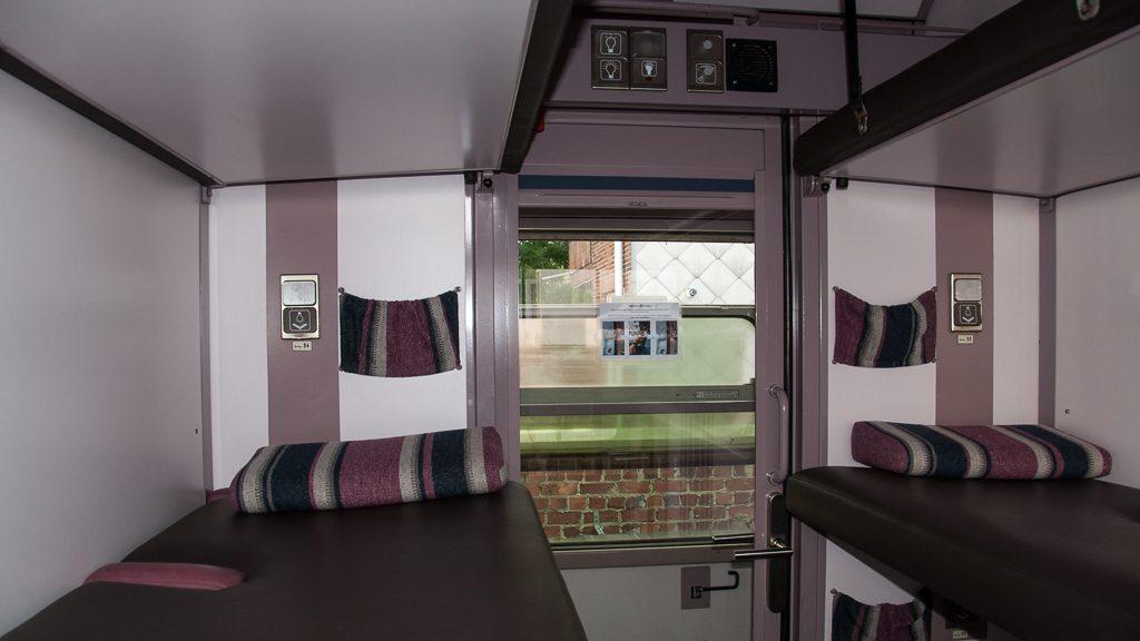 Train Hostel Schlafwagen bzw. Liegewagen