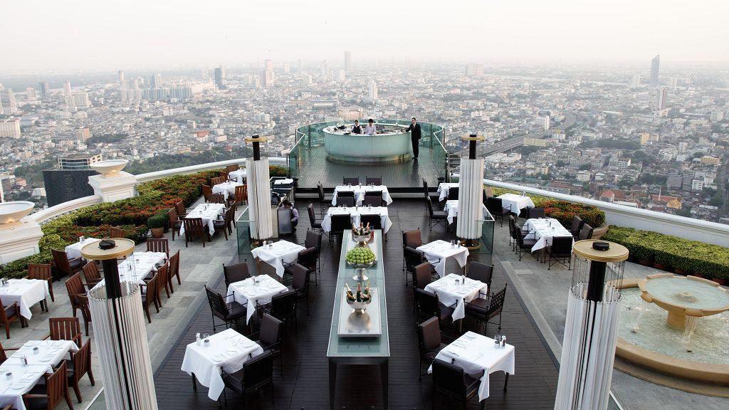 Lebua Bangkok Skybar und Restaurant