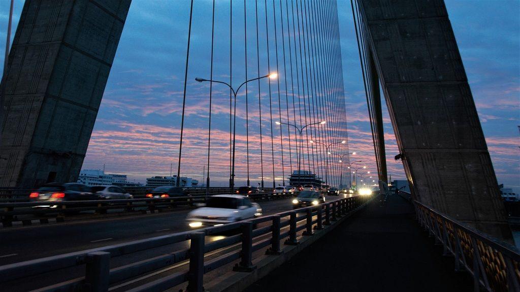 Rama VIII Brücke Bangkok