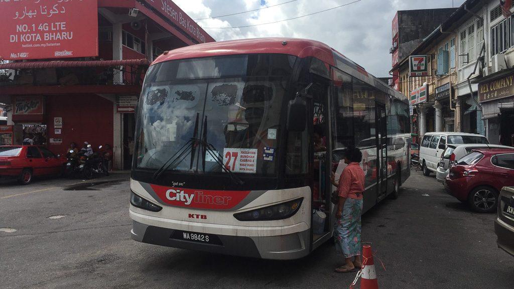 Bus 27 Kota Bharu - Wakaf Bharu