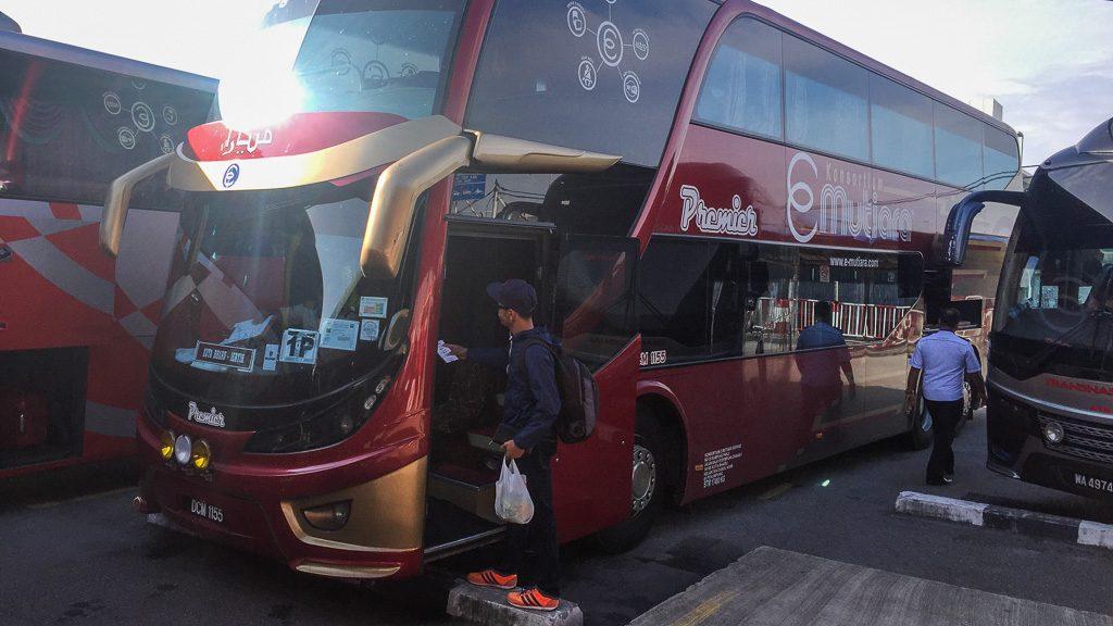 Bus Butterworth - Kota Bharu (Tagesverbindung)