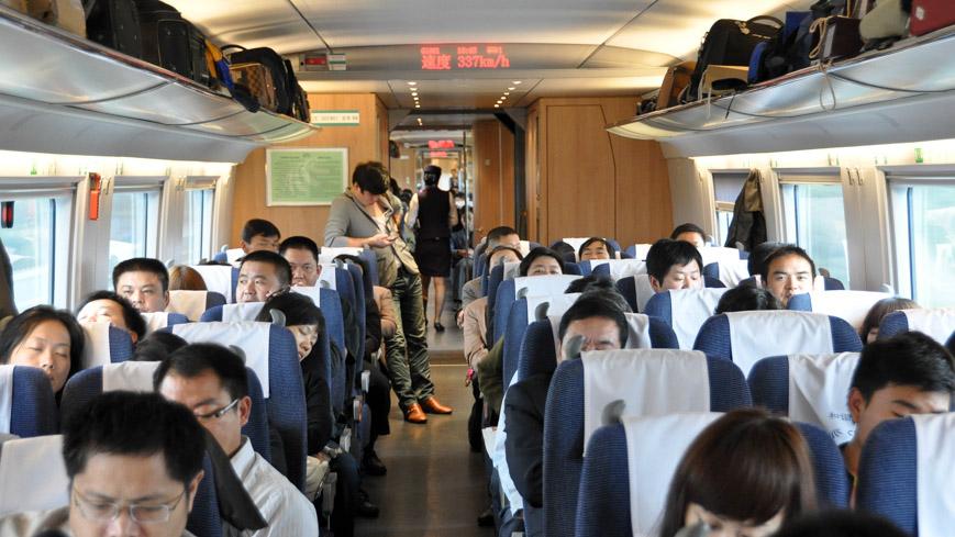 CRH Zug von Siemens in China