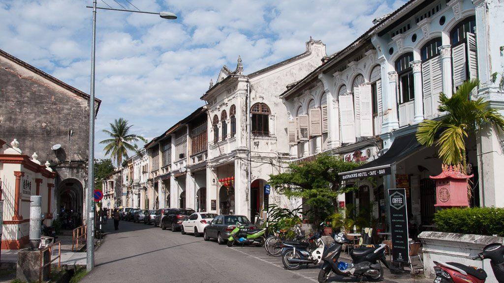 Gasse in George Town - Penang