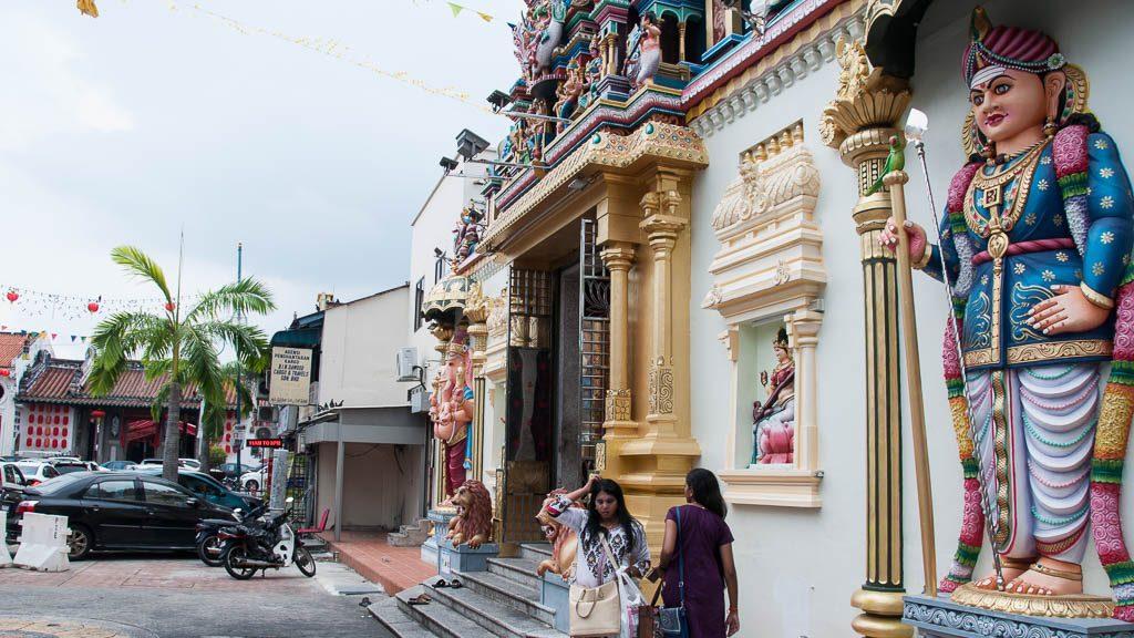 Hindu Tempel in George Town - Penang