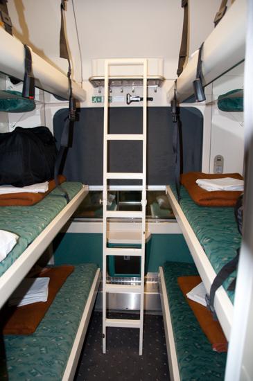 Liegewagen der Kroatischen Eisenbahn