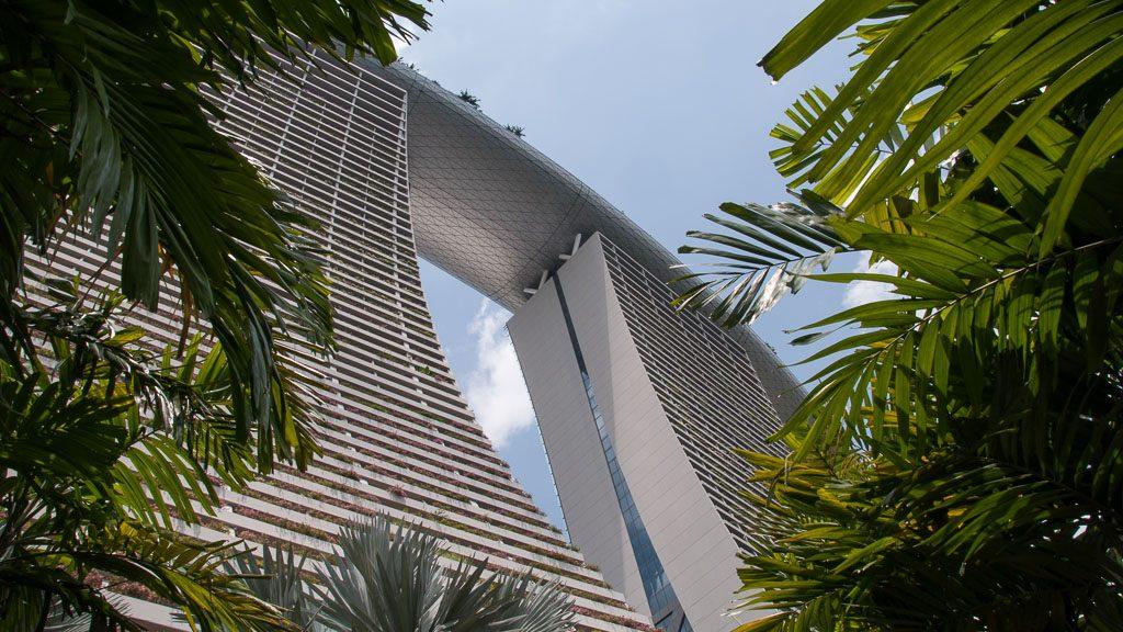 Marina Bay Sands Hotel in Singapur