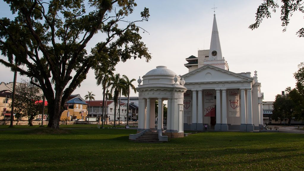 St. Georges Kirche in George Town - Penang