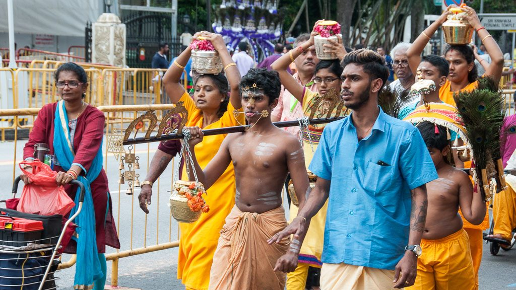 Thaipusam in Singapur in Little India