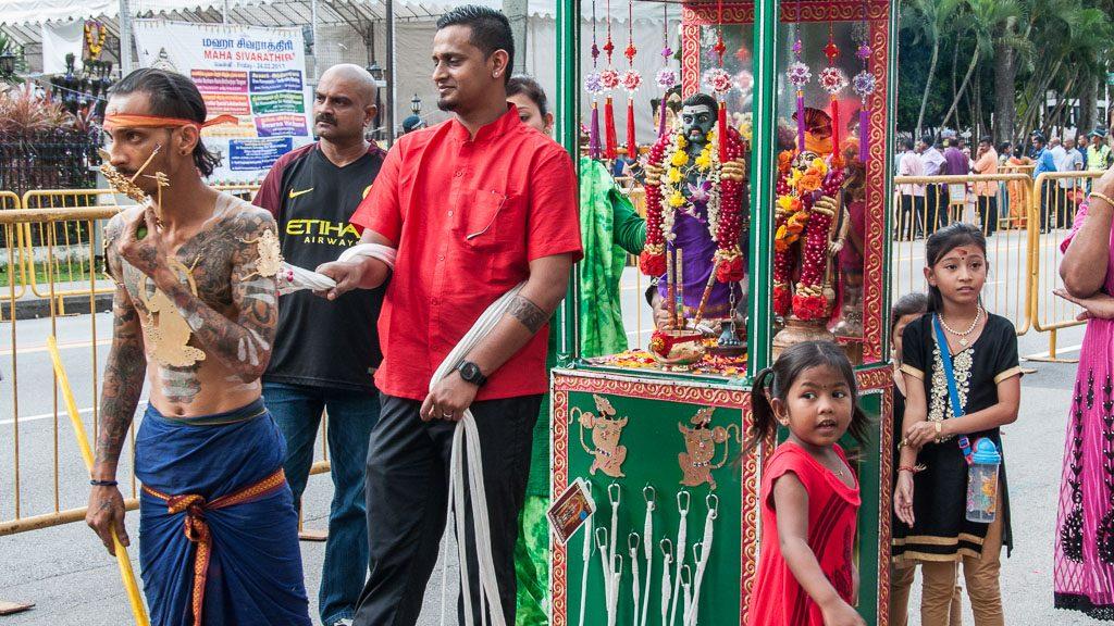 Thaipusam in Singapur in Little India