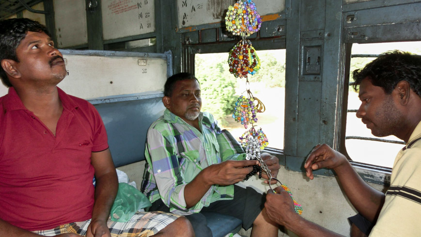 Zugreise in Indien