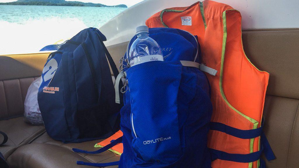 Osprey Daylite Daypack mit Trinkflaschenhalterung