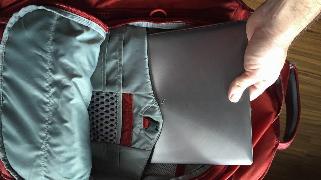 Osprey Porter 65 Laptopfach