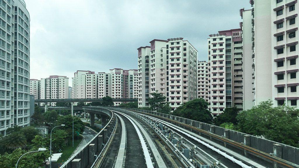 Wohnviertel in Singapur