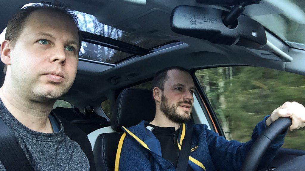 Markus Pötzelsberger und Gerhard Liebenberger im Suzuki SX4 S-Cross