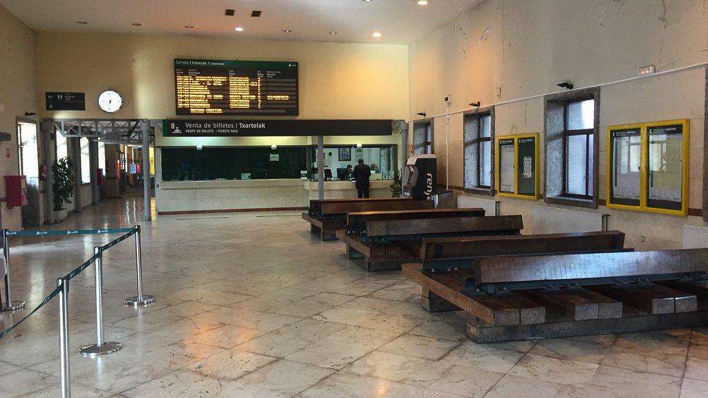Bahnhof Irun