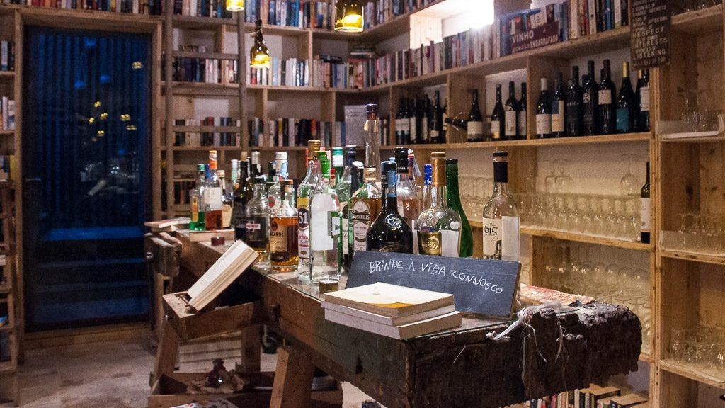 """Bar im Bücher-Hotel """"The Literary Man"""""""