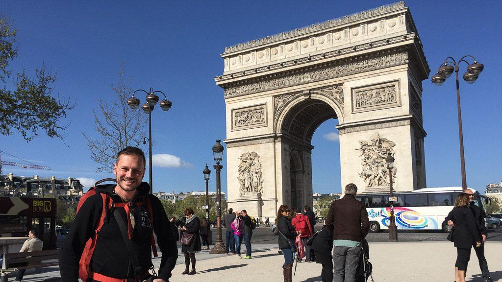 Gerhard Liebenberger in Paris