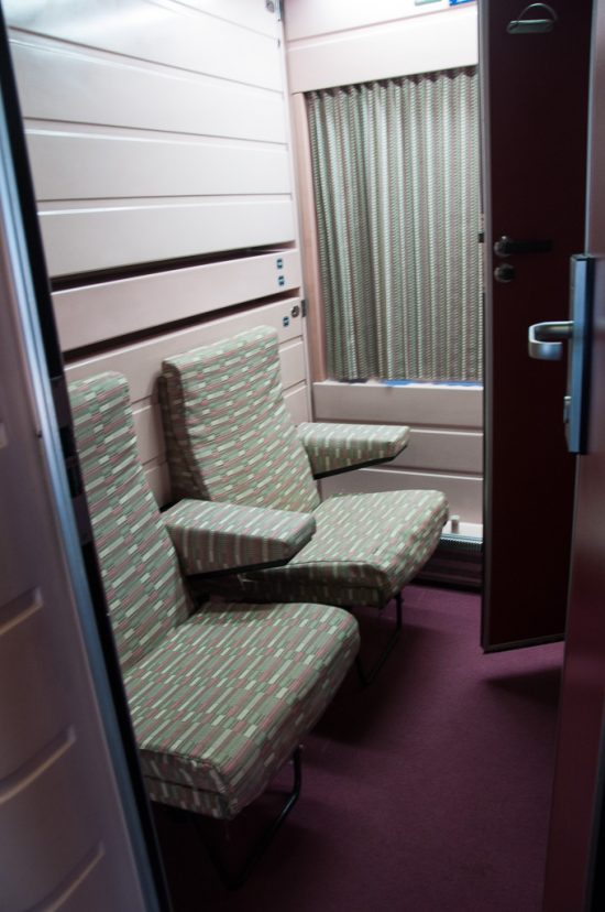 Gran Clase Abteil im Nachtzug der RENFE und CP