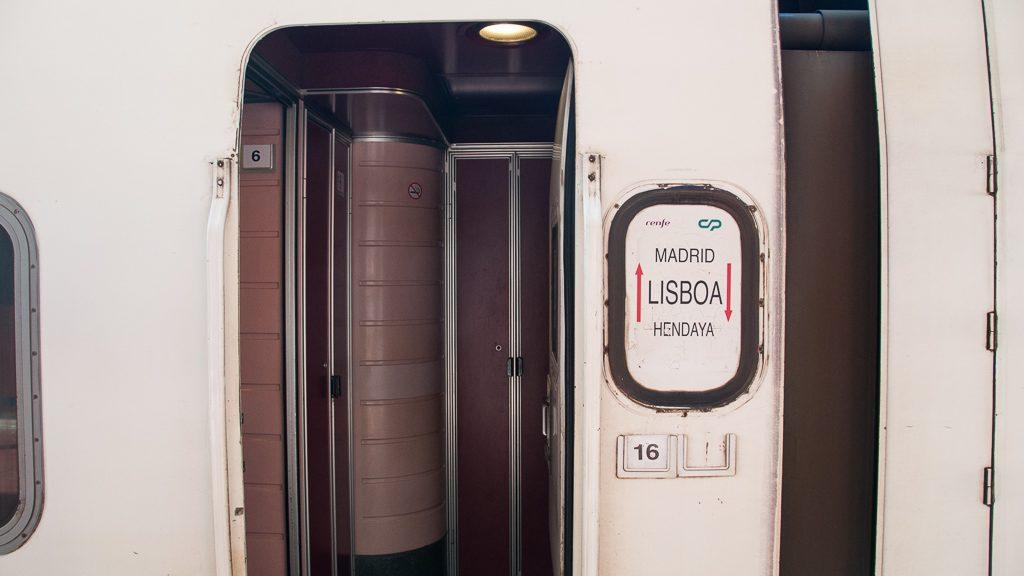 Nachtzug Madrid - Lissabon - Hendaye