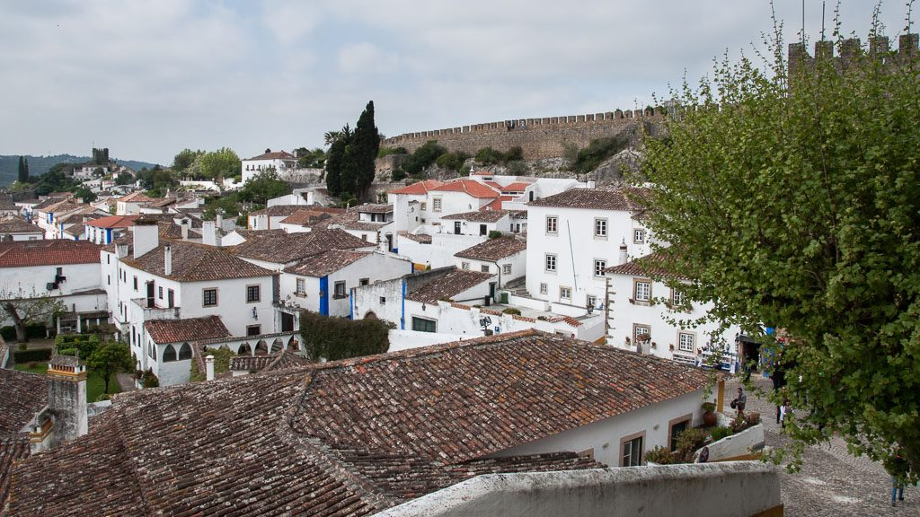 Obidos in Centro de Portugal