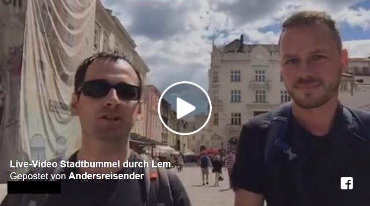 Live-Video Stadtbummel in Lviv mit Lviv-Buddy Peter Althaus