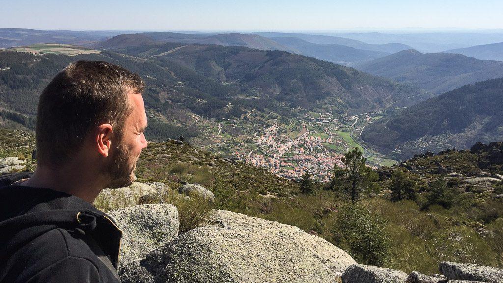 Gerhard Liebenberger in der Serra da Estrela