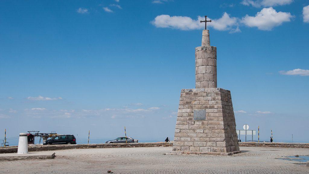 Gipfel des Torre. Der höchste Berg Portugals