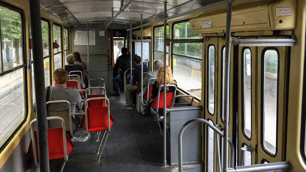 Tatra KT4 Straßenbahn in Lviv/Lemberg
