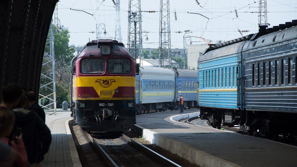 Bahnhof Lviv/Lemberg