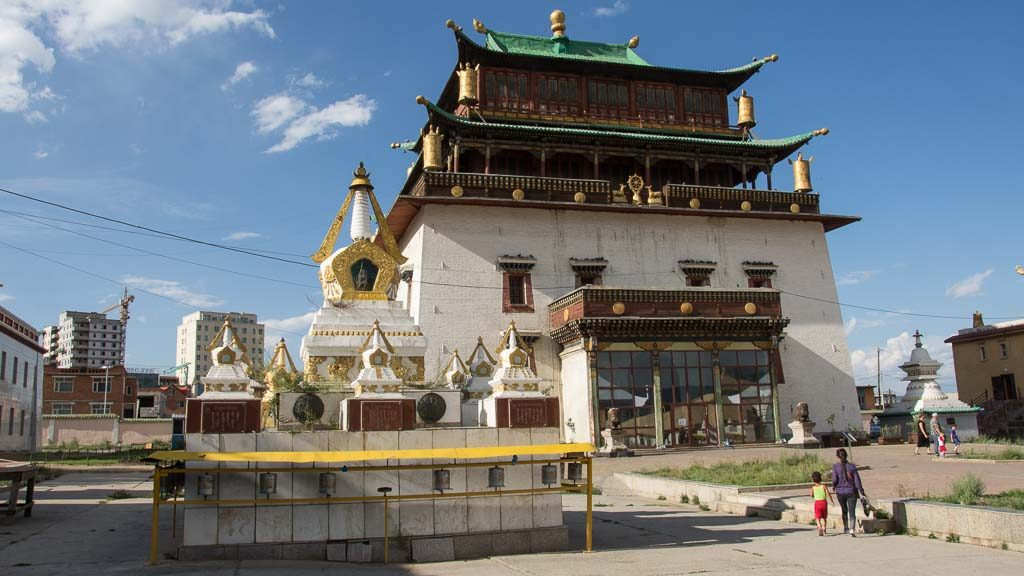 Gandan Kloster in Ulan Bator
