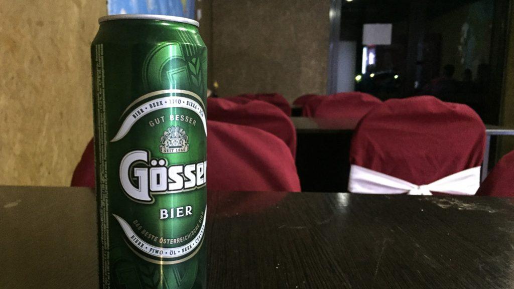 Gösser Bier in Russland