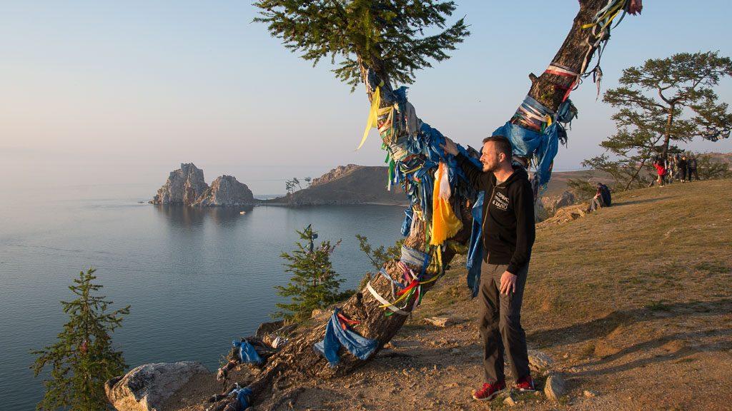 Kap Burhan mit Baikalsee