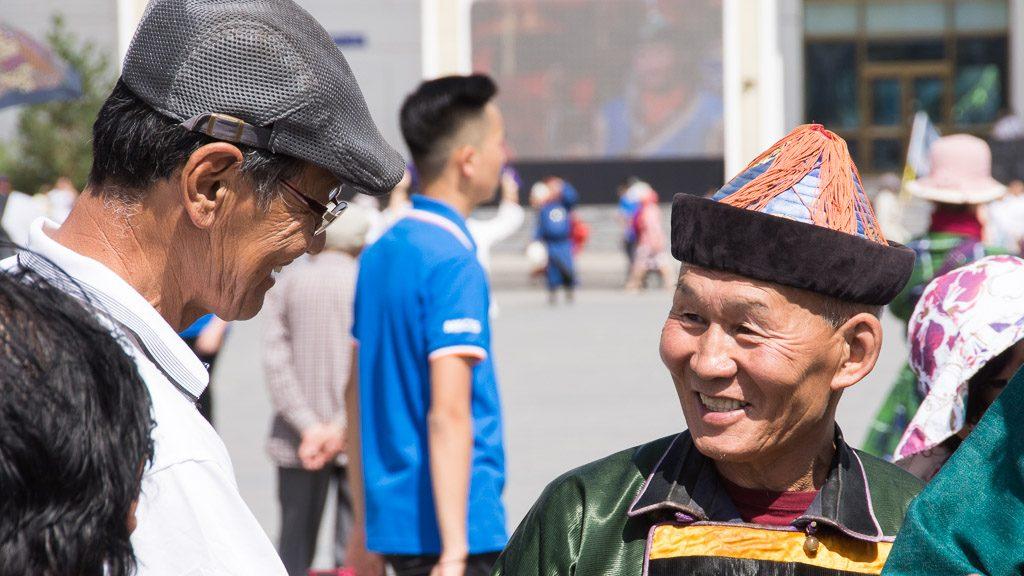 Naadam Fest Besucher