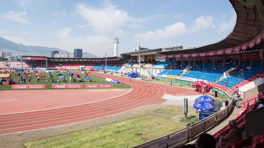 Nationalstadion in Ulan Bator