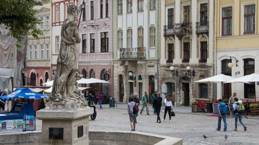 Rynok in Lviv/Lemberg