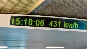 431 km/h im Transrapid